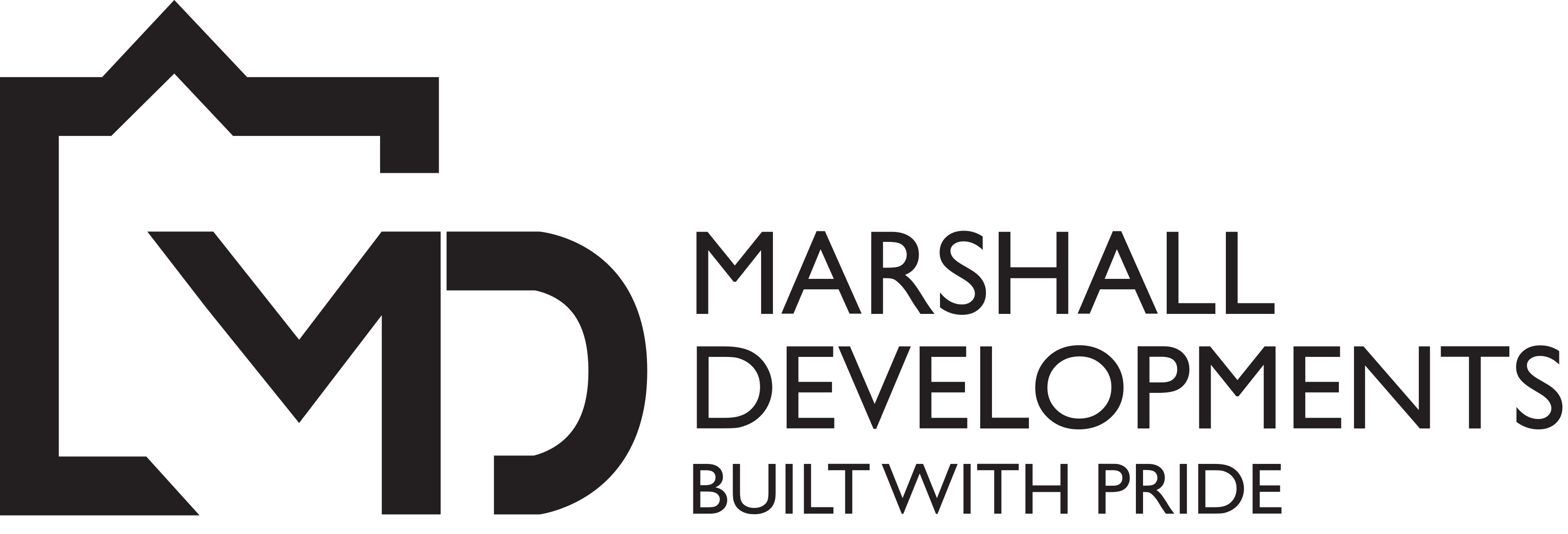 Marshall Developments Sticky Logo